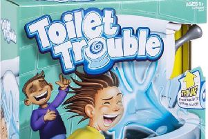 The game Toilet Trouble is predicted to be popular this Christmas.