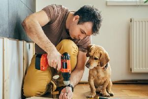 The North East of England is the most competent at DIY, with 49 per cent of men and women able to complete a range of simple household tasks successfully