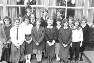 Image of yesteryear, from 1988, if you can remember it or if you recognise any of those pictured, please get in touch and let us know.