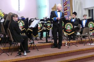 Morpeth Rotary brass band concert