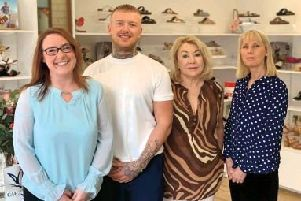 Victoria Grace staff, from left, Riane Brown, Mark Summers, Diane Scott and manager Jill Batch. Picture by Nathan Hannam.