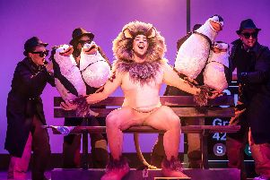 Matt Terry as Alex the Lion in Madagascar - The Musical