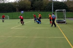 Whitley Bay and Tynemouth Hockey Club Men's second team in action