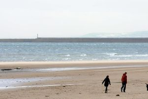 You can't beat a walk along the beach.