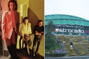 There will be certain items that fans wont be able to take into the Metro Radio Arena gig