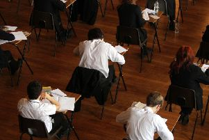 Hundreds of teenagers facing compulsory resits in GCSE maths and English in North Tyneside.