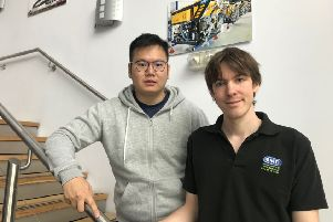 Engineers, Andrew Ambrose-Thurman and Hua Khee Chan