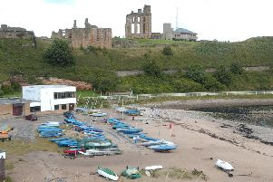 The area around Tynemouth Sailing Club is covered by the flood warning issued by the Environment Agency.