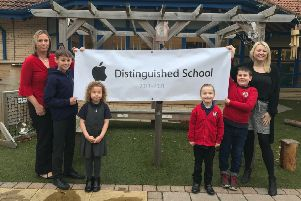 Stephenson Memorial Primary School has been named an Apple Distinguished School for 2018-2021.