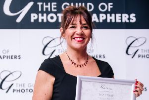 Tina Stobbs, named as one of the international top ten photographers for babies and bumps by the Guild of Photographers.