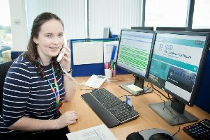 Rebecca Mould completed an apprenticeship at Northumbria Healthcare and now has a permanent job with the trust.