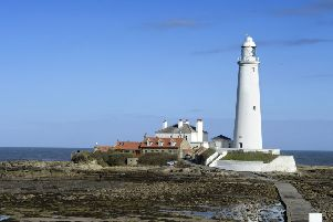 St Mary's Lighthouse on St Mary's Island.'Picture by Jane Coltman