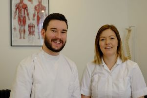 Andrew and Nicola Tonks, who have set up Tyneside Osteopathy in North Shields. Picture by RusbyMedia.