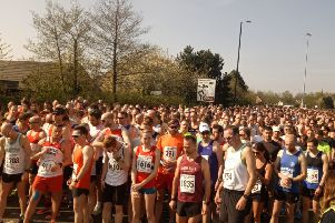 Runners in the North Tyneside 10k Road Race.