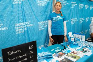 Abby Robinson, who is doing a firewalk with her husband in aid of Parkinson's UK. Picture by Martin Avery Photography.