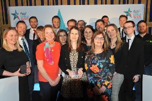 The winners at the North East FSB Celebrating Small Business Awards. Picture by Tim Richardson.