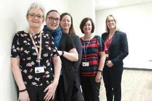 Members of Northumbria Healthcare and Northumberland County Council's Menopause and Andropause (MAA) staff network group.
