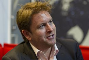 Tickets for James Martin's latest tour go on sale on Friday.