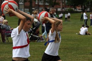 Sports Days at Bede Academy in Blyth.