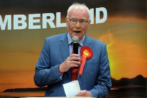 Blyth Valley MP Ronnie Campbell.