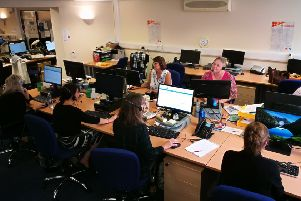 Advice line volunteers at Citizens Advice.