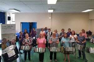 Charity helps over 50s to play the pans