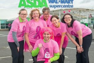 Asda Ashington is taking part in the Tickled Pink campaign.