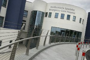 Northumbria Specialist Emergency Care Hospital'Picture by Jane Coltman