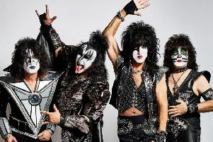 US rockers Kiss photographed by Jen Rosenstein.