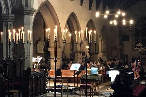 Baroque Christmas by Candlelight, by the Royal Northern Sinfonia, at St Michael's Church, Alnwick.