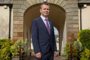 Nigel Harrett, the new principal of Northumberland College.