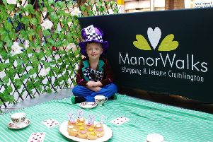 Jack Cochrane, aged 6, dressed as the Mad Hatter from Alice in Wonderland.