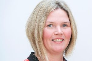 Kirsty Dickson, the freedom to speak up guardian for Northumbria Healthcare.