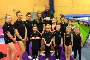 Wansbeck Gymnastics and Trampolining Club is among those to benefit from Ashington Leisure Partnership funds.