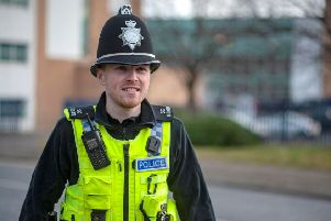 Ryan Young, a Special Constable at Northumbria Police.