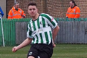 Blyth Spartans' central defender Nathan Buddle. Picture by Bill Broadley