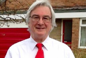 Labour's Leslie Bowman, the new county councillor for Holywell.