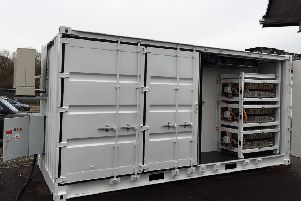 Connected Energy's E-STOR battery system.