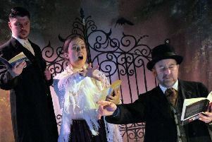 Northumberland Theatre Company is performing 'Dracula... The Travesty!' Picture by Keith Pattison