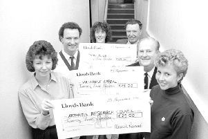 Remember when from 30 years ago, cheque presentation