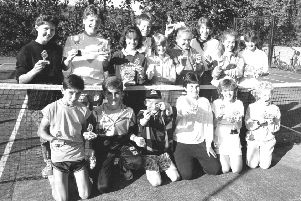 Remember when from 30 years ago, Lesbury tennis