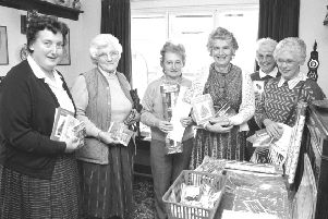Remember when from 30 years ago, Whittingham coffee morning and Christmas card sale.