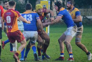 Alnwick Rugby v Sandal. Picture by Steve Miller