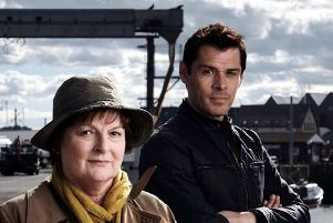 Brenda Blethyn and Kenny Doughty were in  Amble for the filming of Episode 2, Series 9 of Vera.