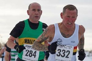 Grey takes a silver medal at Masters cross-country
