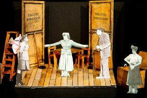 Stage set to portray the lives of Joan and Jimmy