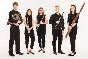 Ensemble entertained young and old in two church events