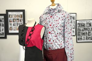 Sixties style on show at the 100 Years of Fashion exhibition at Alnwick's Bailiffgate Gallery.' Picture by Jane Coltman