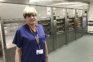 Dawn Dickson, team leader in Northumbria Healthcare NHS Foundation Trust's sterile services department.
