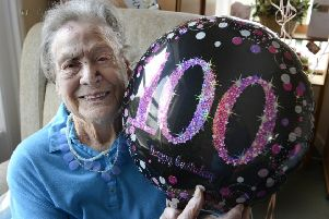 Dorothy Taylor has celebrated her 100th birthday. Picture by Jane Coltman